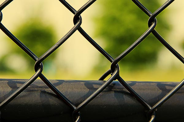 Chainlink fence in Oakland Park
