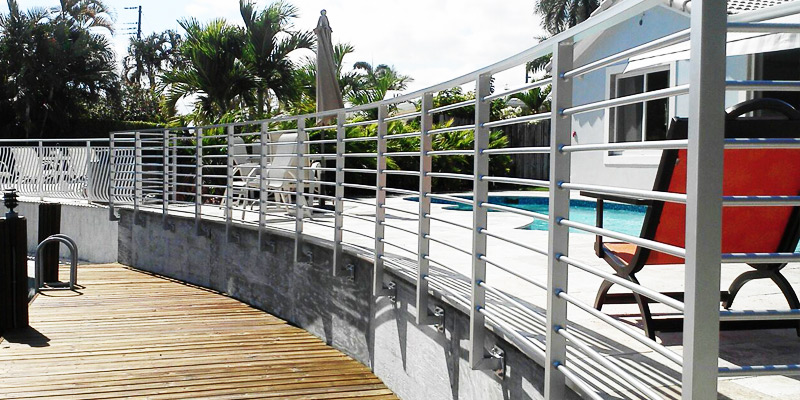 Railing installation broward county