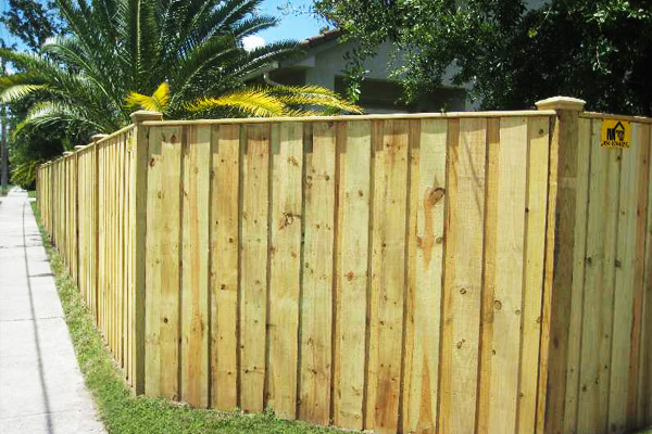 Wood Fence installation broward county