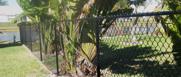 Chain link fence Broward county