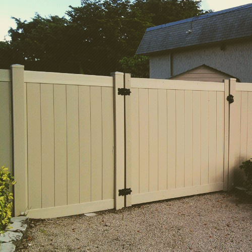 PVC Fencing Installation