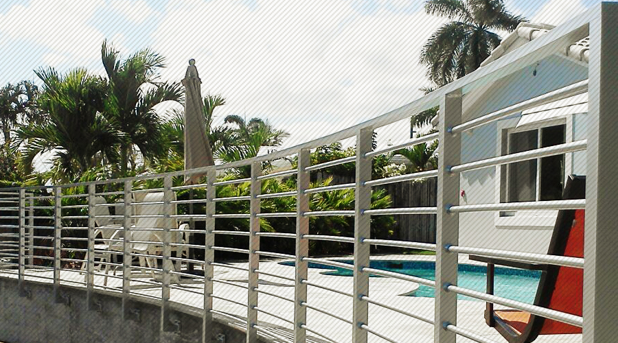ADA Approved Aluminum Railing Installation