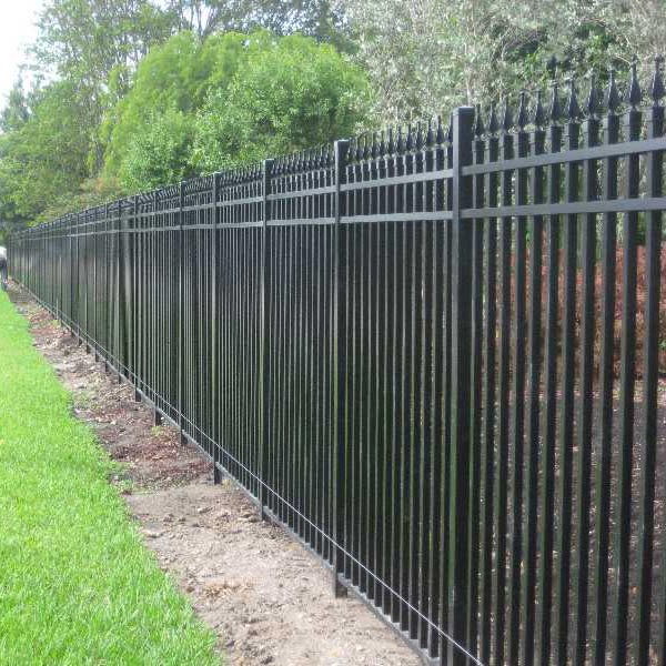 Aluminum Fence Installation In Broward County Power