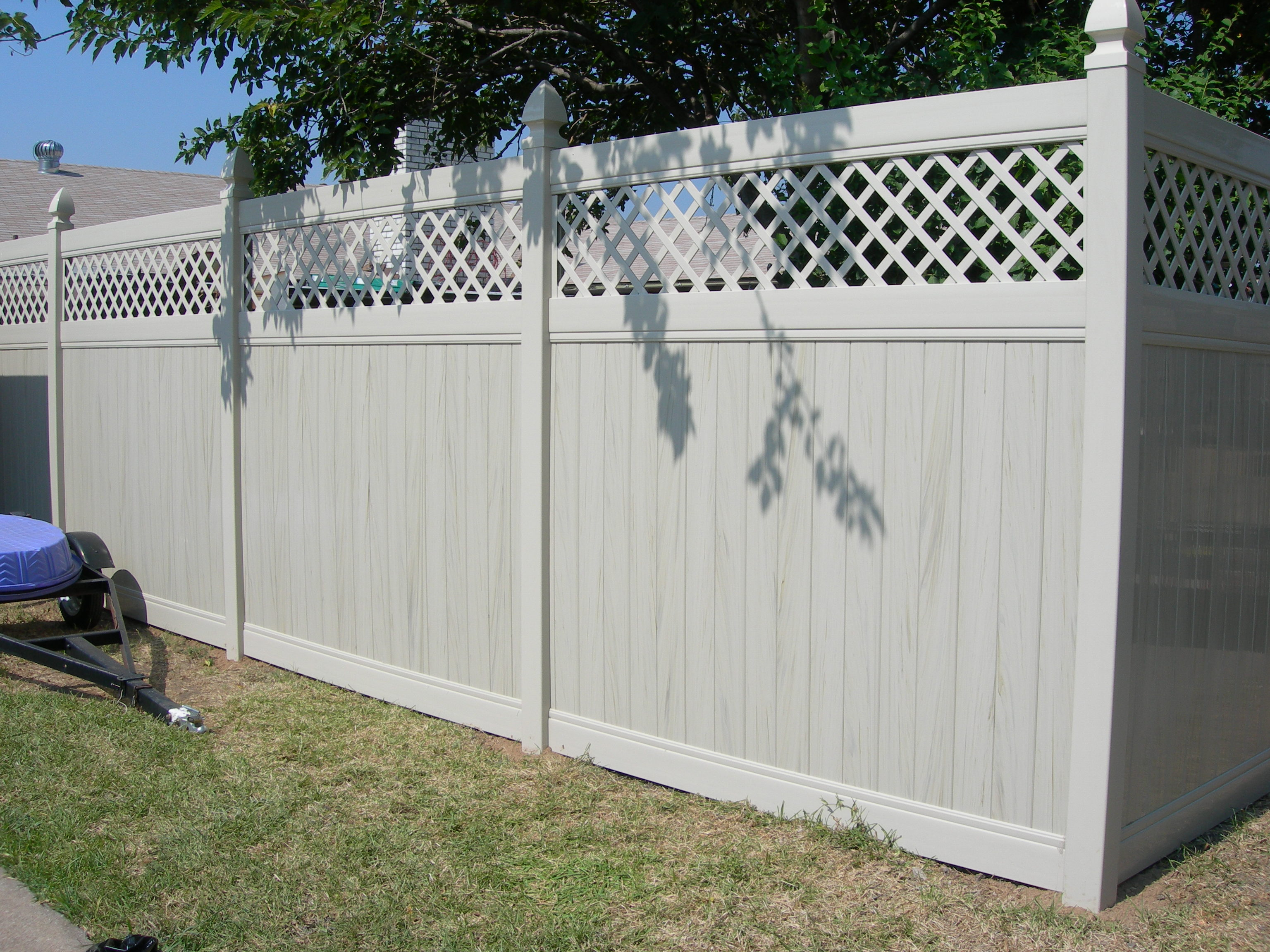 vinyl fence installation in broward county power fence inc