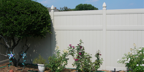 Coral springs vinyl privacy fencing panel